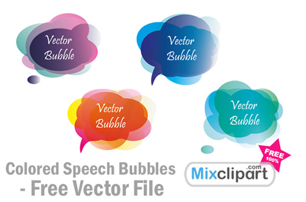 Speech Bubble Vector Free Download