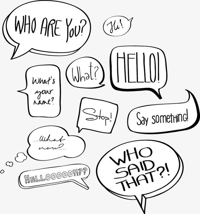 650x694 Vector Comic Speech Bubble, Comic Speech Bubble, Speech Bubble
