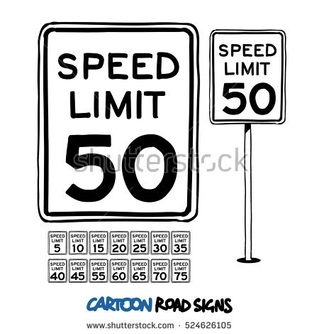 450x470 Speed Limit Sign Clip Art Clipart Collection