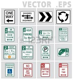 236x259 Traffic Sign Vector Speed Limit, No Turn. Vector Amp Sign