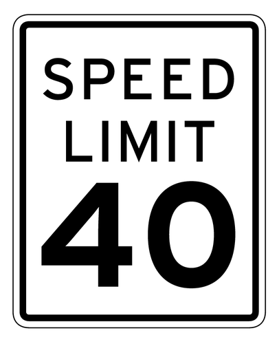 406x500 Buy Vector Speed Limit Signs Icon Logo Graphic Royalty Free Vectors