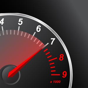 300x300 Free Vectors Red Speedometer Free Vectors