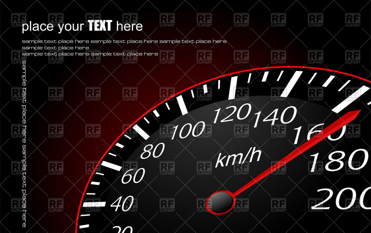 1200x755 Speedometer Vector Image Vector Artwork Of Transportation