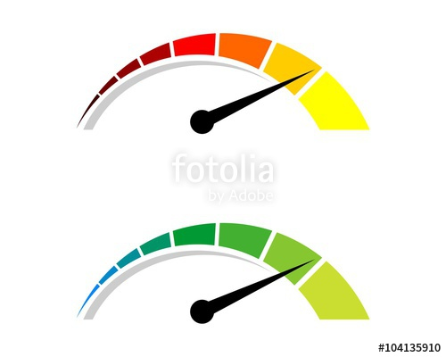 500x400 Colorful Speedometer Logo 2 Stock Image And Royalty Free Vector