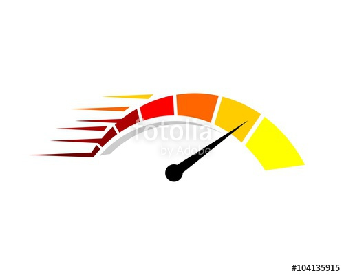 500x400 Colorful Speedometer Logo Stock Image And Royalty Free Vector