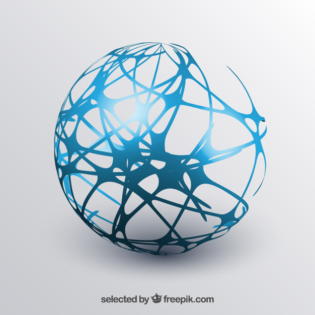 626x626 Abstract Sphere Vector Free Download