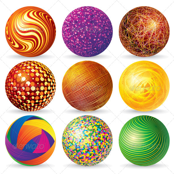 590x590 Abstract 3d Vector Sphere Logos By Pilart Graphicriver