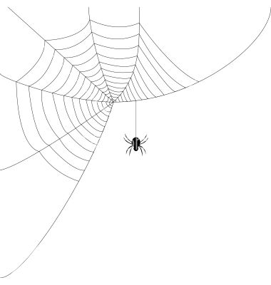 380x400 Spider Web Vector Spiders And Creepy Things