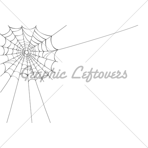 500x500 Vector Spider Web On White Gl Stock Images