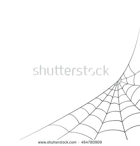 450x470 Corner Spider Web Vector Theopulence