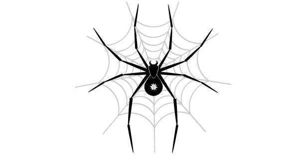 598x312 Spider Web Vector Art Free Vectors Ui Download