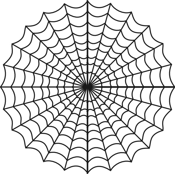600x597 Spiders Web Clip Art Free Vector In Open Office Drawing Svg ( .svg