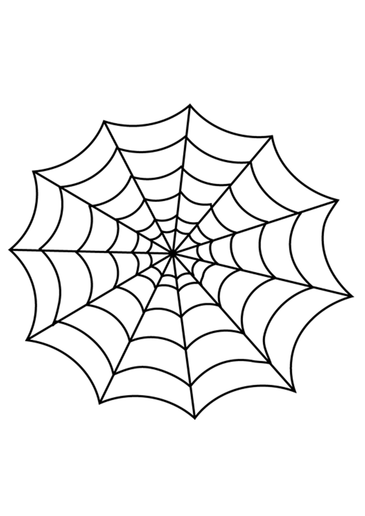 724x1024 Halloween Spider Web Vector Free Png Free Download