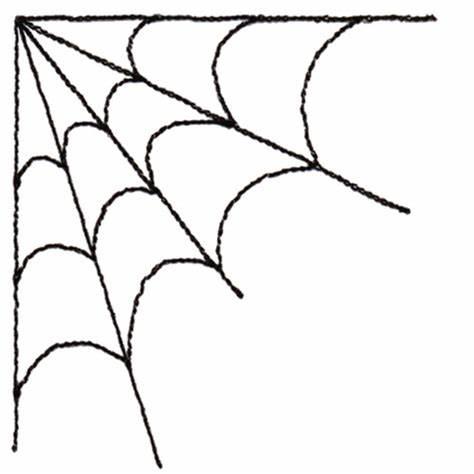 474x474 Corner Spider Web Design. Spider Web Corner Free Vector