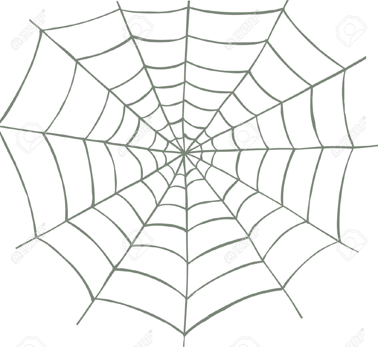 1300x1192 Drawn Spider Web Vector Free Collection Download And Share Drawn