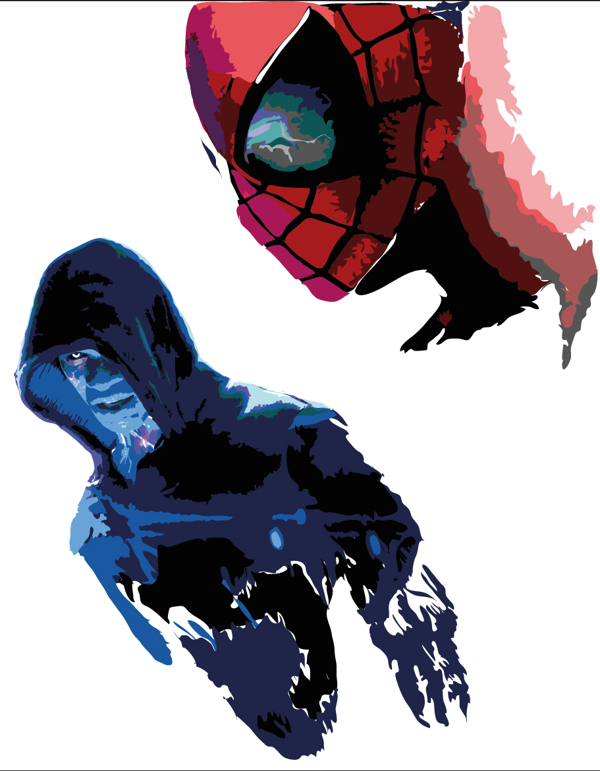 600x771 The Amazing Spiderman 2 Tribute Vector Art You Have To See
