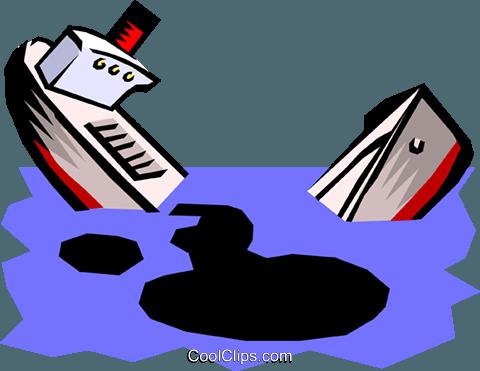 480x371 Oil Spill Royalty Free Vector Clip Art Illustration Envi0120