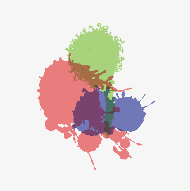 650x651 Vector Color Oil Spill, Color Vector, Vector, Color Png And Vector