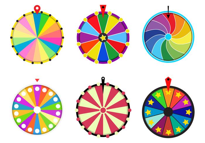 700x490 Free Spinning Wheel Vector