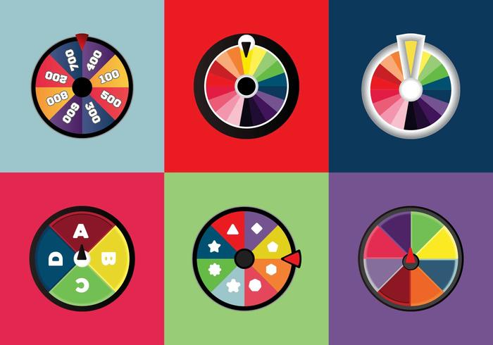 700x490 Free Spinning Wheels Vector