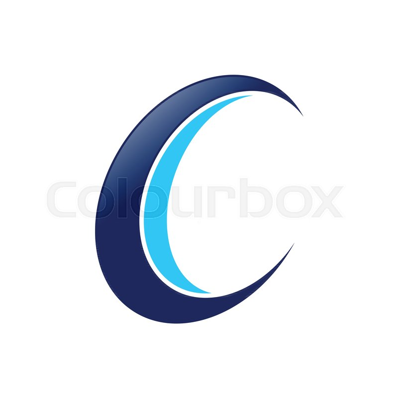 800x800 Initial C Drone Propeller Spin Vector Symbol Graphic Logo Design