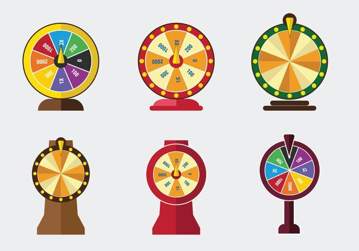 700x490 Lucky Spin Game Vector