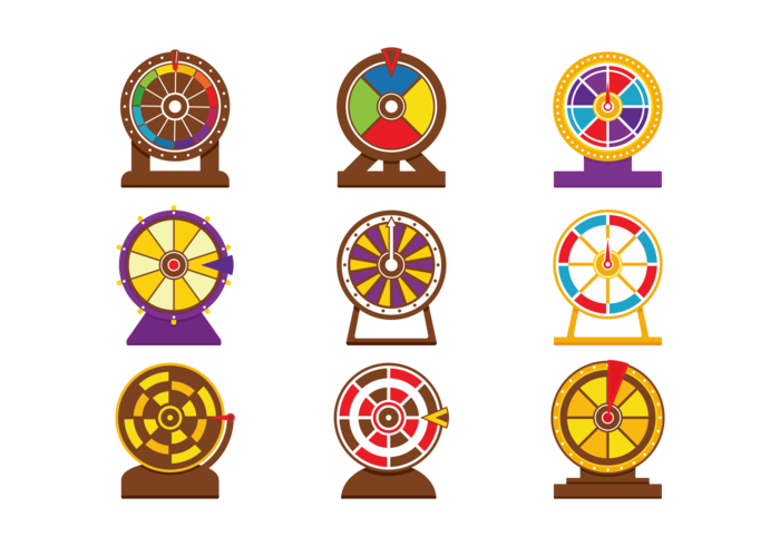 700x490 Vector Spinning Wheel Game