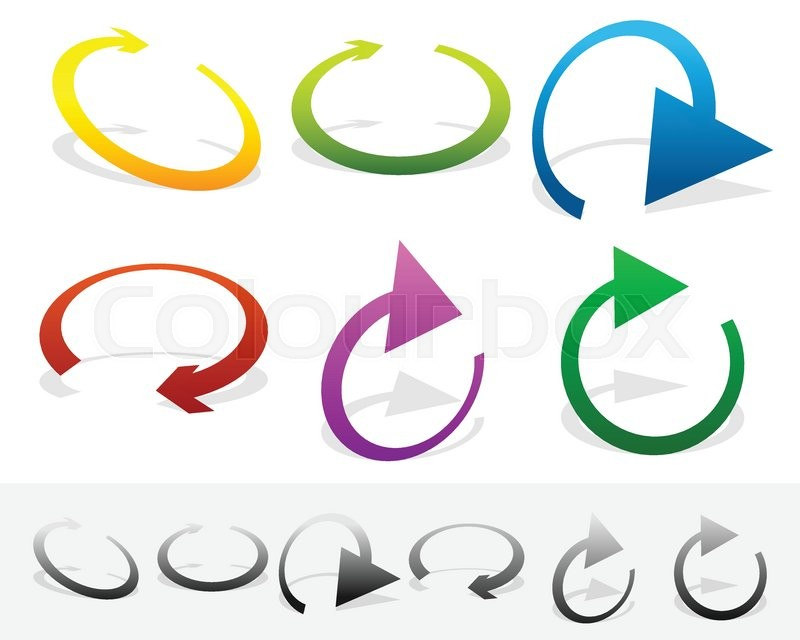 800x640 Circular, Loop, Refresh, Vector, Cycle, Clockwise, Right, Arrow