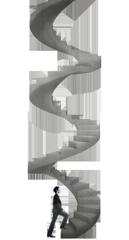Spiral Staircase Vector