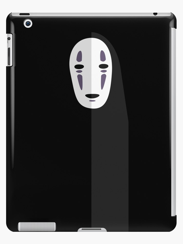 750x1000 No Face Spirited Away Vector Ipad Cases Amp Skins By Little Cub