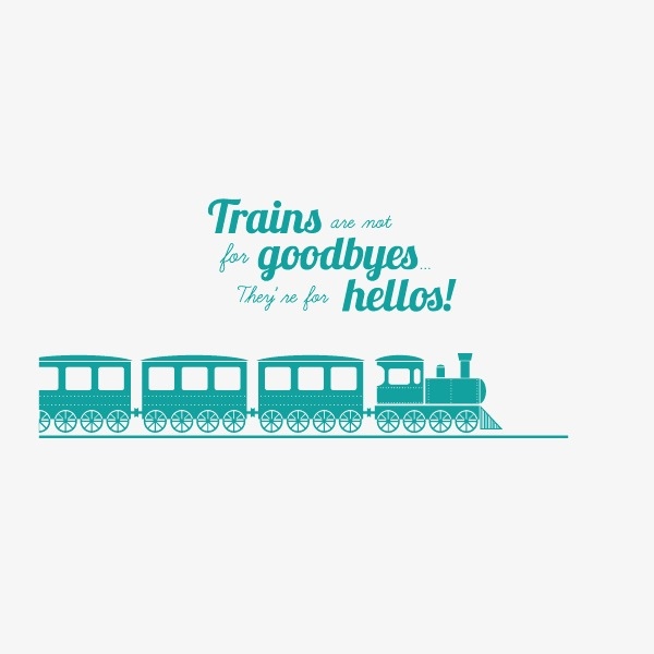 600x600 Sky Blue,train,spirited Away,travel,flat, Sky Blue, Train