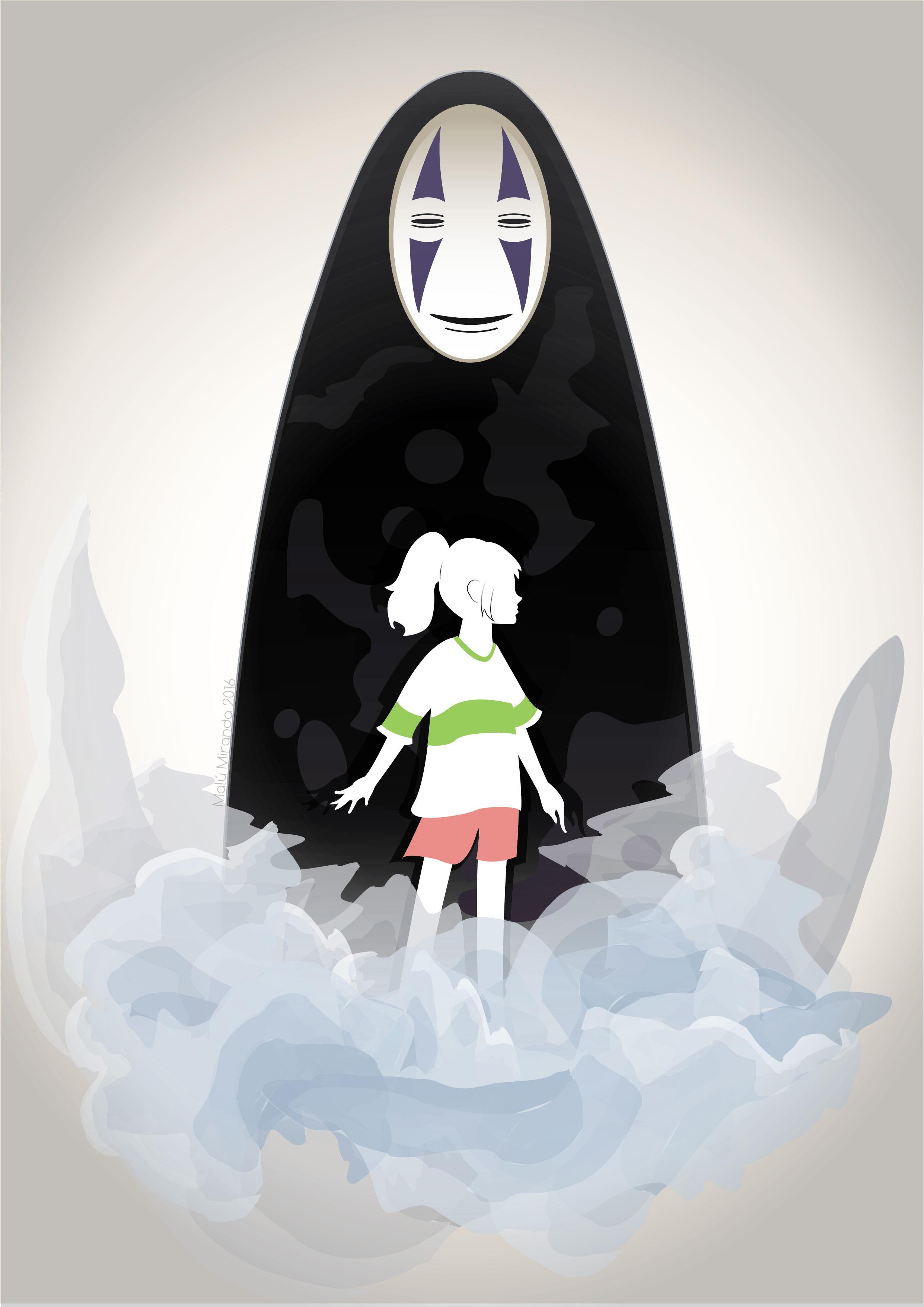2482x3509 Spirited Away (Studio Ghibli) By Malumiranda