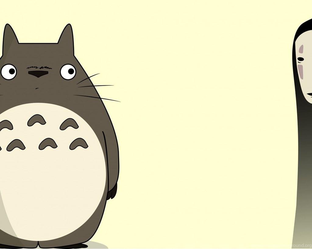 1024x819 Superhd.pics Spirited Away Vector Totoro No Face My Neighbour