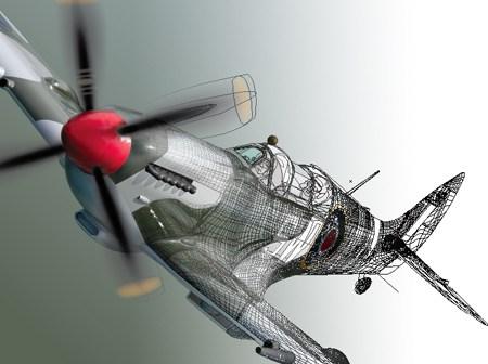 450x336 School Project S2 Vector Art Spitfire Dany Pepin