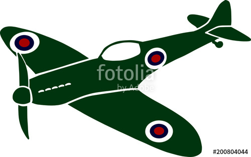 500x313 Spitfire World War Stock Image And Royalty Free Vector Files On