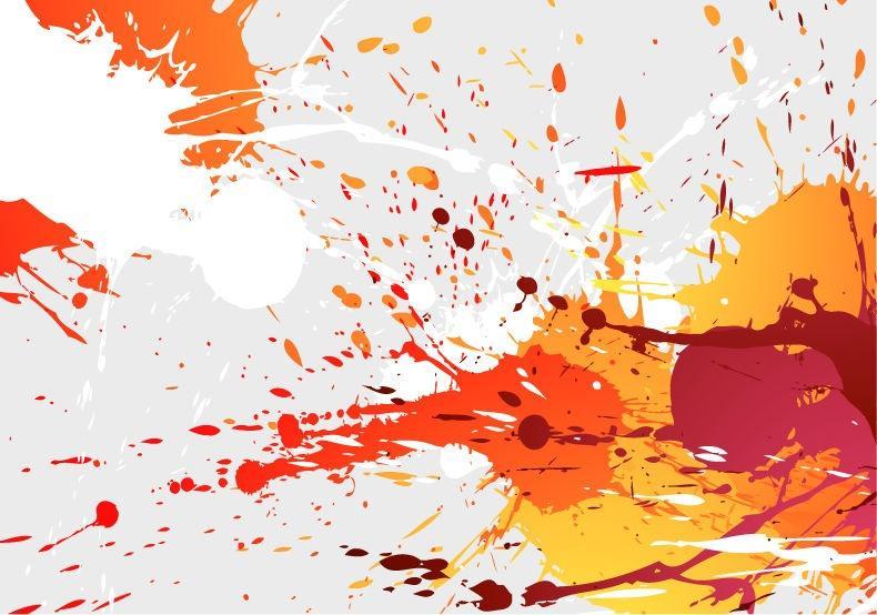 790x554 Colorful Paint Splash Background