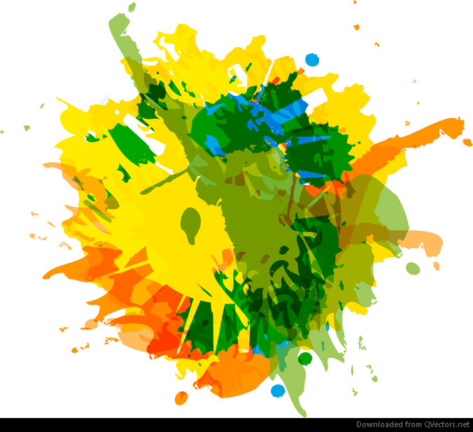 676x618 Abstract Ink Splash Background Vector Graphic