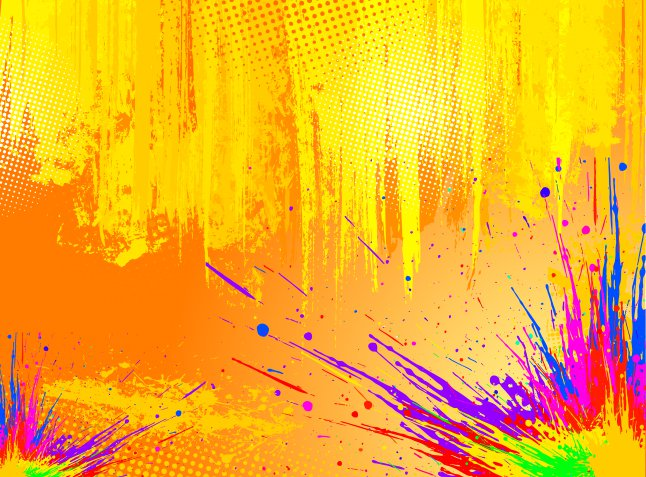 646x477 Color Splash Vector Background Vector Art Amp Graphics