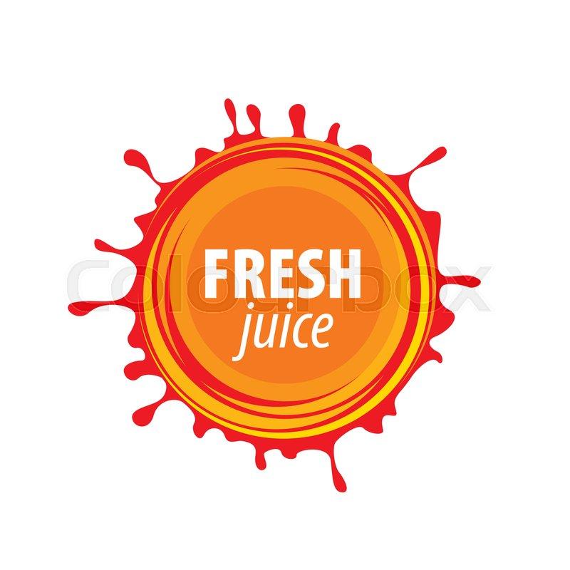 800x800 Juice Splash Vector Sign. Vector Illustration Of Icon Stock