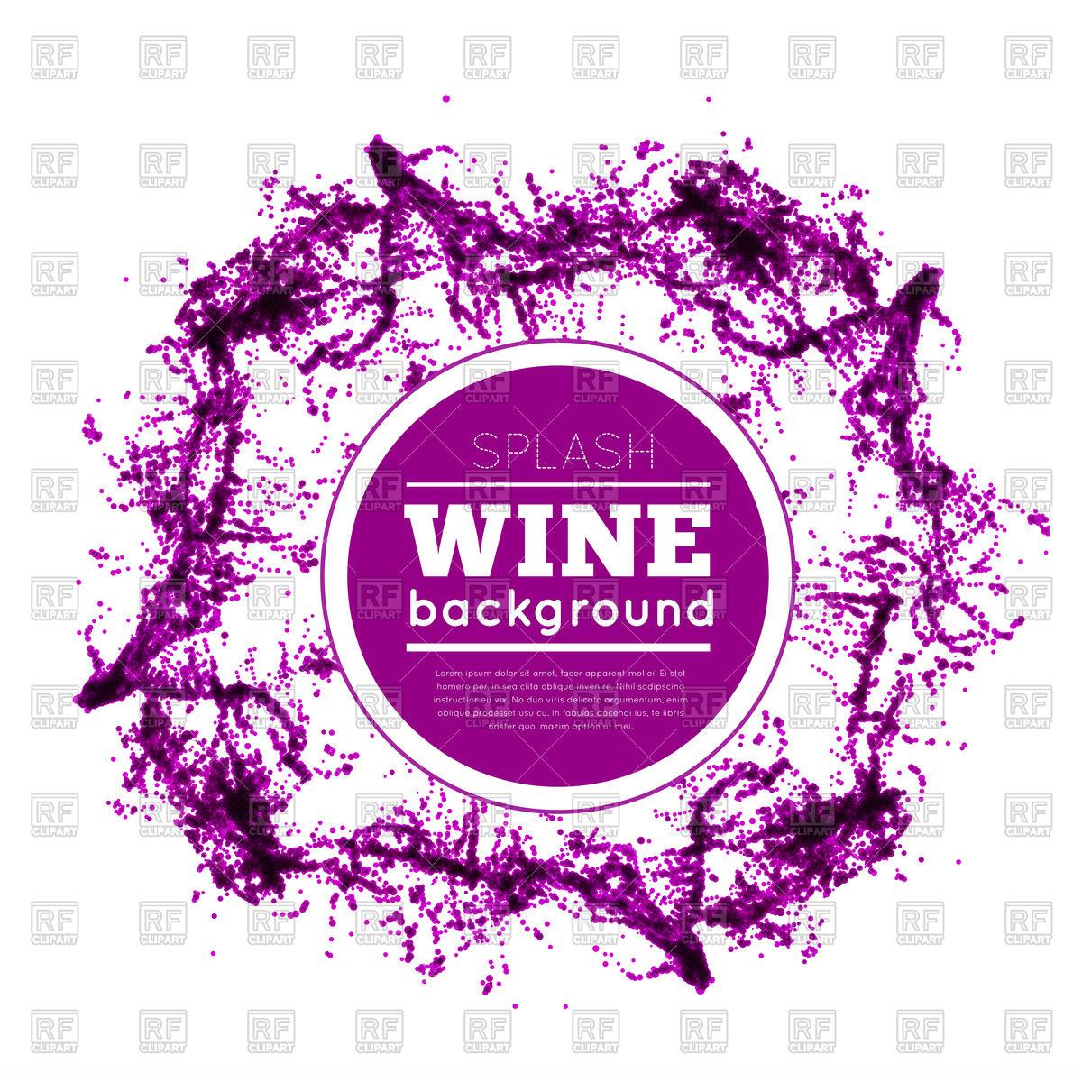 1200x1190 Red Wine Splash Vector Image Vector Artwork Of Backgrounds
