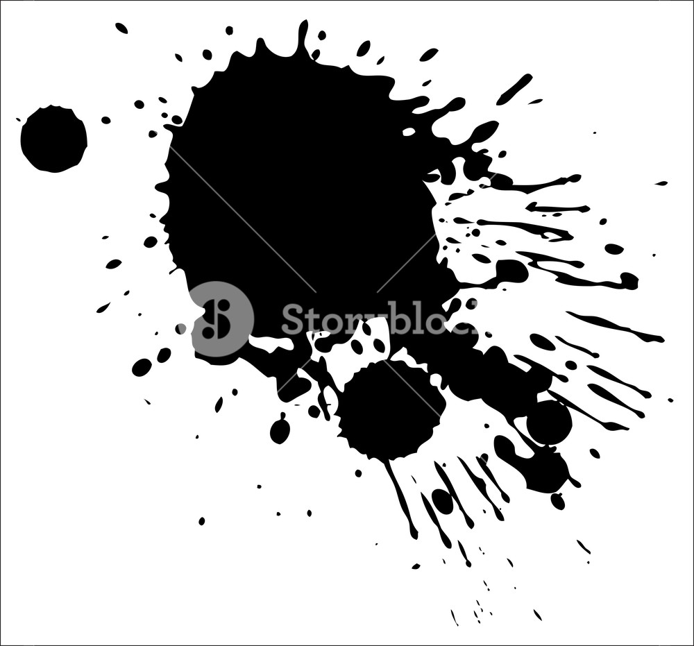 1000x931 Splash Vector Illustration Royalty Free Stock Image