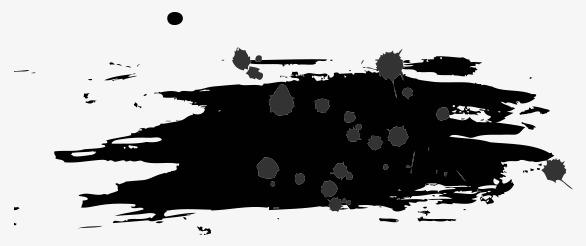 586x246 Vector Black Dots Splash, Vector, Irregular, Creative Png And