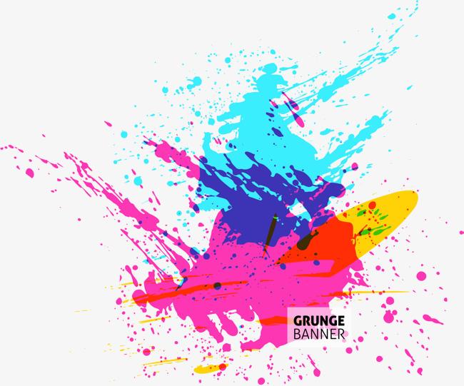 650x541 Watercolor Splash Vector, Watercolor Vector, Splash Vector, Color