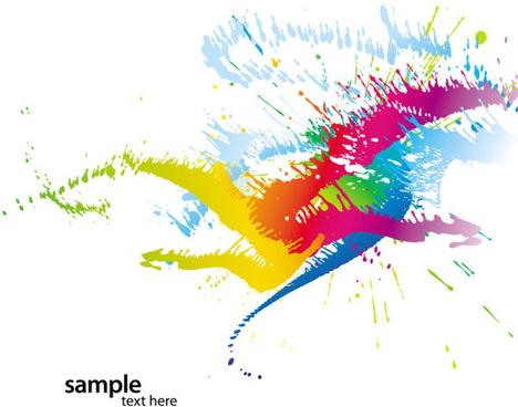 468x368 Color Splash Vector Free Free Vector Download (24,549 Free Vector