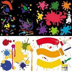 236x238 Color Splash Tile Vector Free Grafit