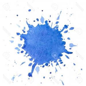 300x300 Photostock Vector Paint Splash Vector Watercolor Design Element