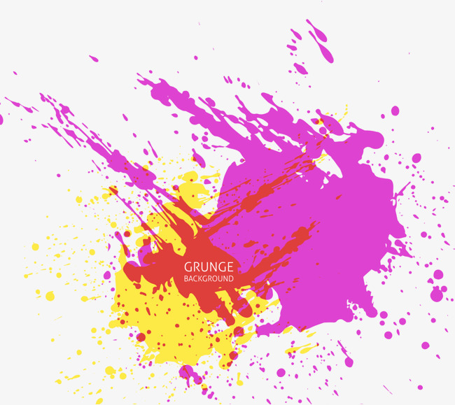 650x579 Color Splash Vector, Color Vector, Splash Vector, Pieces Of Red