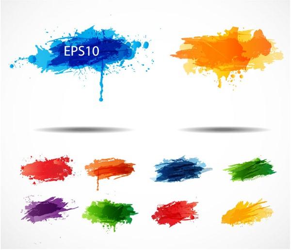 600x516 Color Splash Ink Vector Graphics My Free Photoshop World