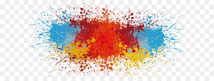 900x340 Download Vector Splash Of Paint