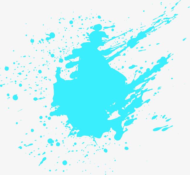 650x599 Exquisite Design Splash Vector, Splash Vector, Blue, Splash Png